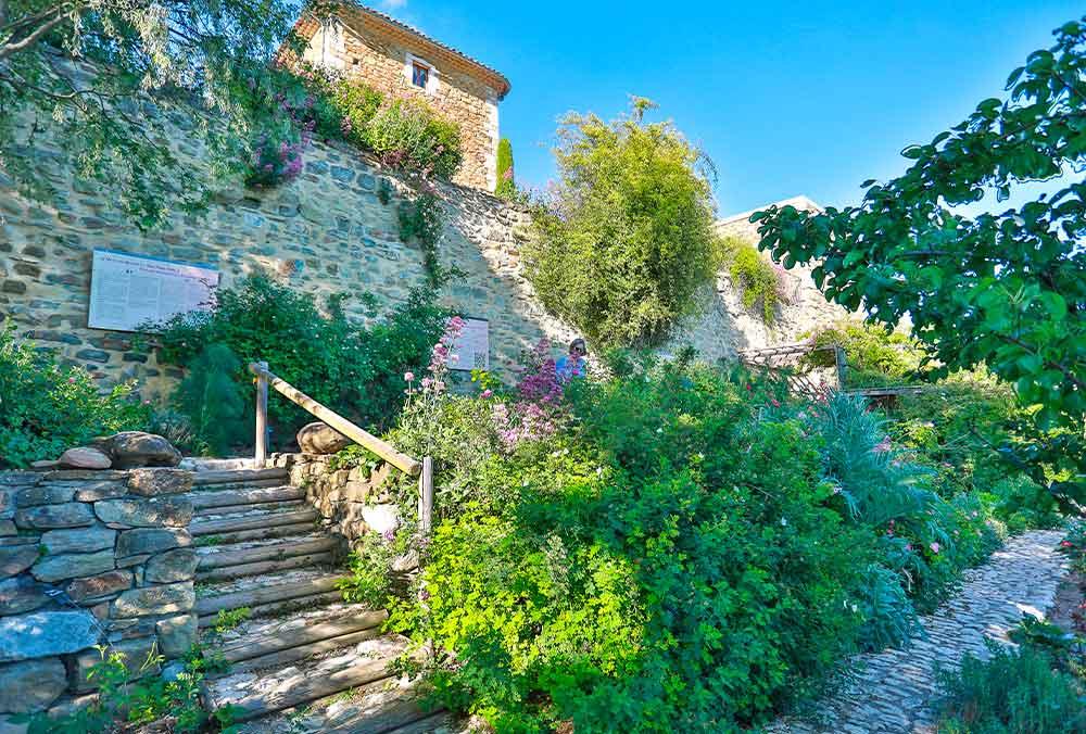 Valsaintes Abbey garden