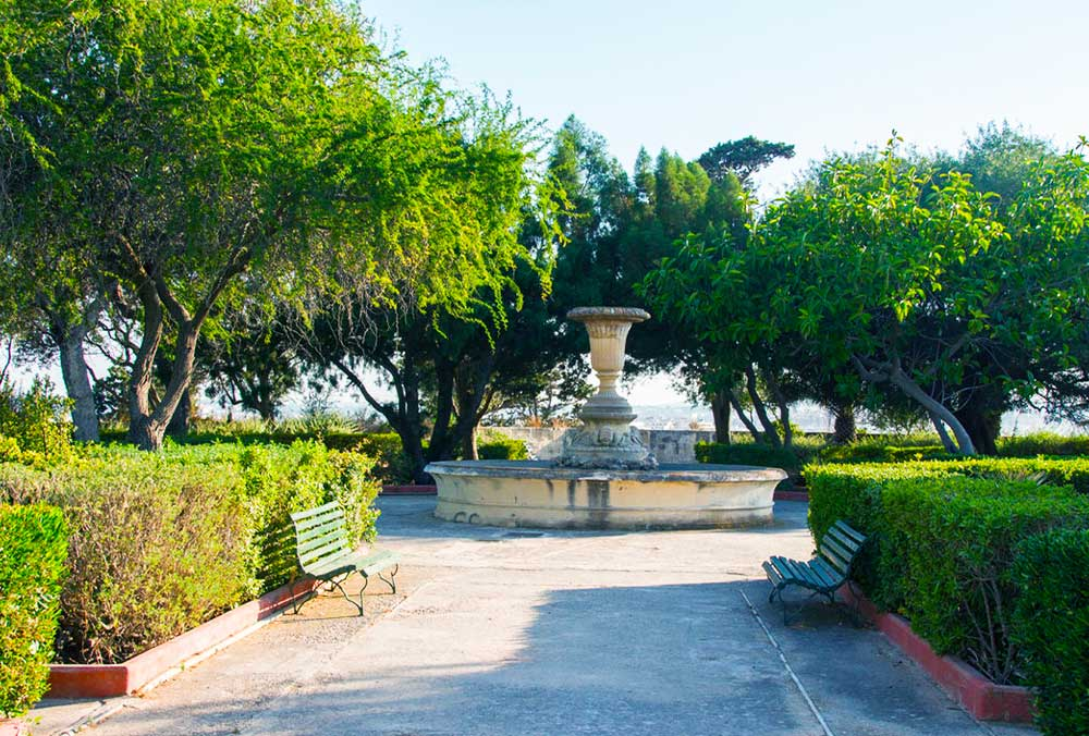 Argotti botanical gardens