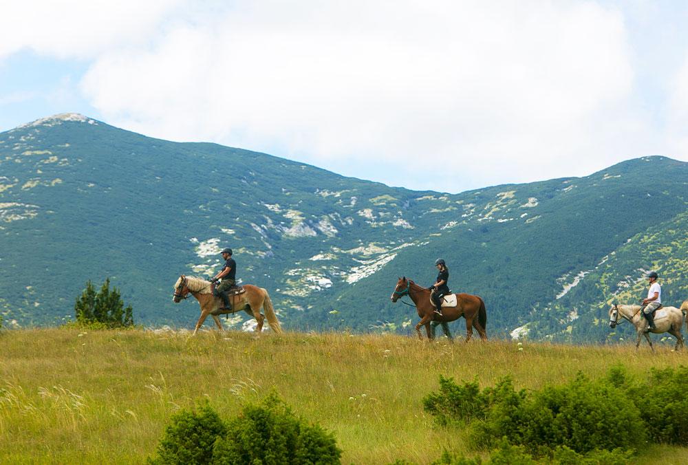 """Horseback riding at """"Blidinje Nature Park"""""""