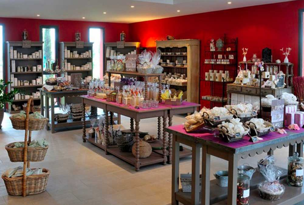 Visit of Collines de Provence – Store and factory